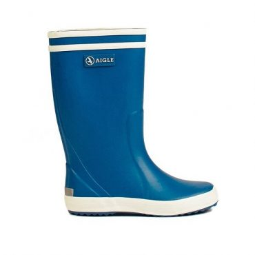 Aigle Childrens Lolly Pop Wellington Boots in Roi