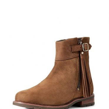 Ariat Ladies Abbey Short Boots in Chestnut