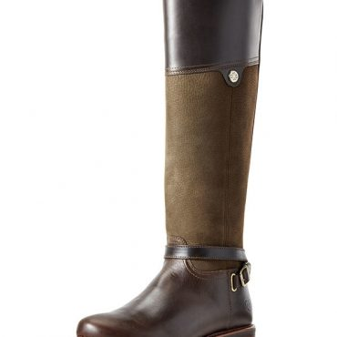 Ariat Ladies Carden H20 Tall Boots in Chocolate Willow
