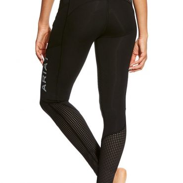 Ariat Ladies EOS Knee Patch Tights in Black