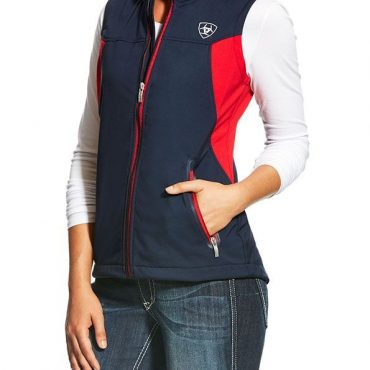 Ariat Team Softshell Vest in Navy