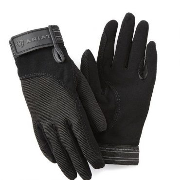 Ariat Tek Grip Gloves in Black