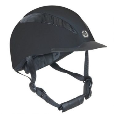 Champion Air Tech Deluxe Helmet in Black Silk
