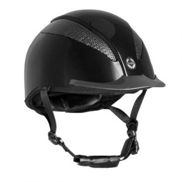 Champion Junior Air Tech Deluxe Helmet in Black