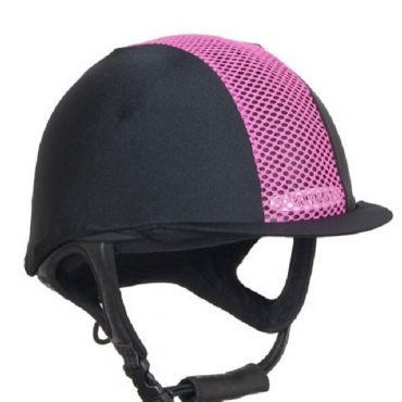 Champion Ventair Hat Silk in Black/Hot Pink