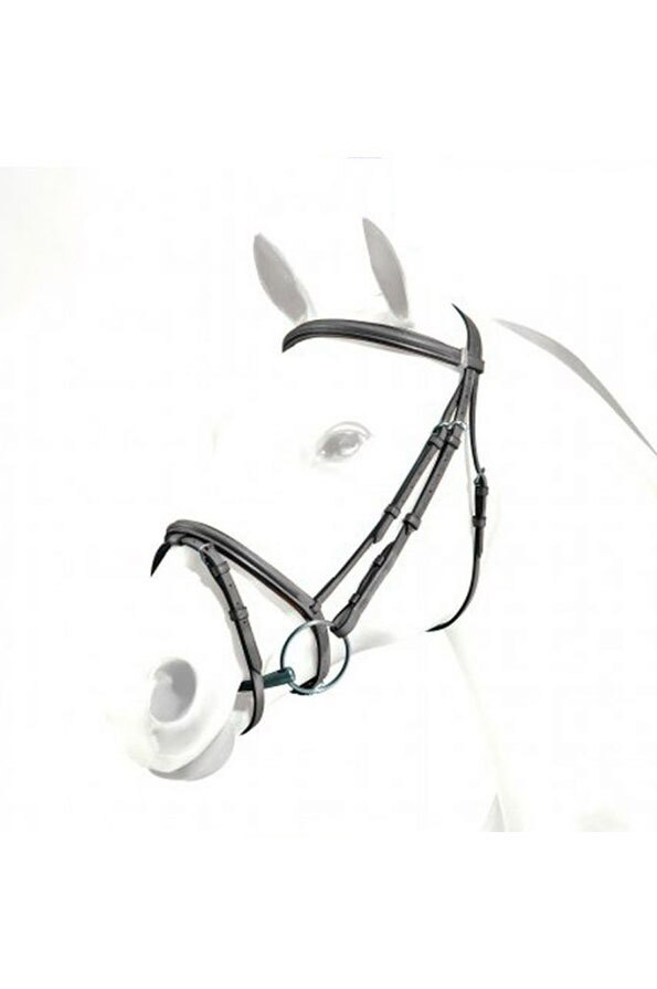Equipe Emporio Flash Bridle in Black