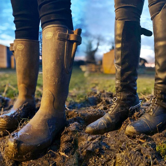 How to clean and take care of your leather and wellington boots.
