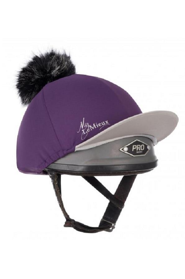 LeMieuxLadies Hat Silk - Blackcurrent