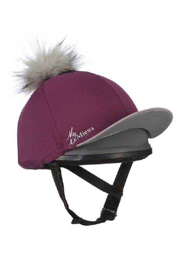 LeMieuxLadies Hat Silk - Plum