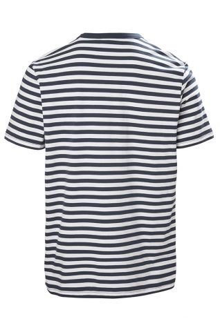 image of Musto Mens Loire Stripe Short Sleeve T Shirt