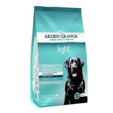Arden Grange Chicken & Rice Light Dog Food - 2kg
