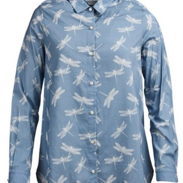 Barbour Ladies Bowfell Shirt - Blue Heaven