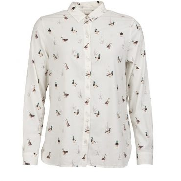 Barbour Ladies Brecon Shirt - Cloud