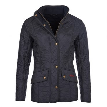 Barbour Ladies Cavalry Navy Polarquilt Jacket - Navy
