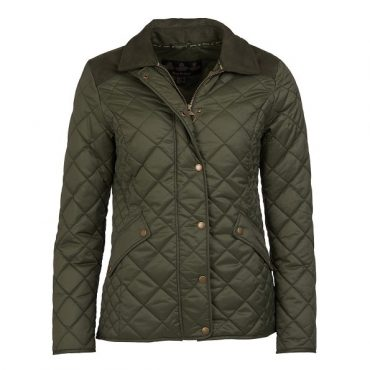 Barbour Ladies Exmoor Quilted Jacket - Olive