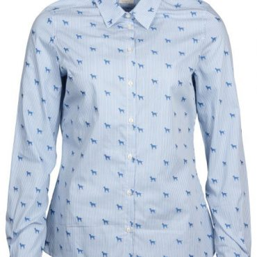 Barbour Ladies Hampton Shirt - Pale Blue
