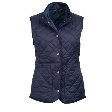 Barbour Ladies Highgate Quilted Jacket Olive - Navy/Navy