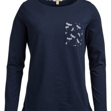 Barbour Ladies Keswick Top - Navy