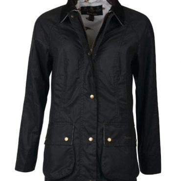 Barbour Ladies Monteviot Wax Jacket - Royal Navy/Dragonfly