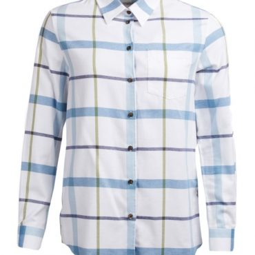 Barbour Ladies Oxer Shirt - Blue Heaven Check