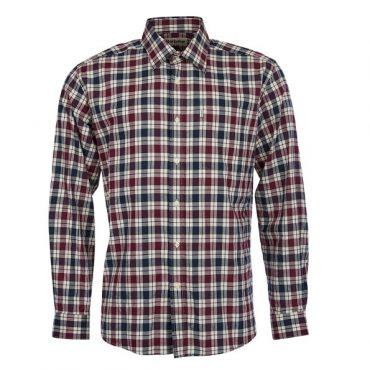 Barbour Mens Astwell Shirt - Merlot
