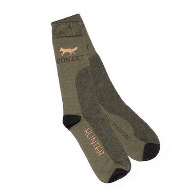 Bonart Mens Hunter Socks Fox - Fox Print