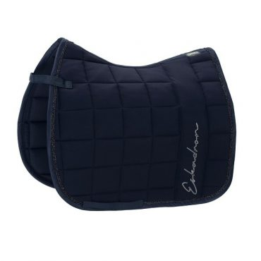 Eskadron Big Square Dressage Micro Saddle Pad - Navy