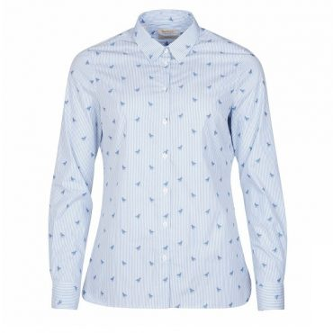 Barbour Ladies Malvern Shirt - Pale Blue