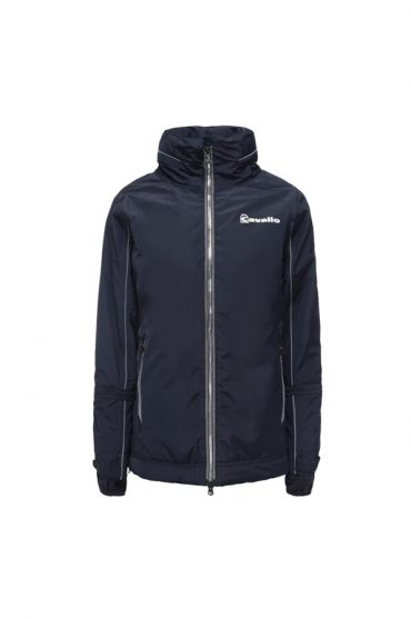 Cavallo Ladies Ramiza Functional Jacket - Front - Dark Blue