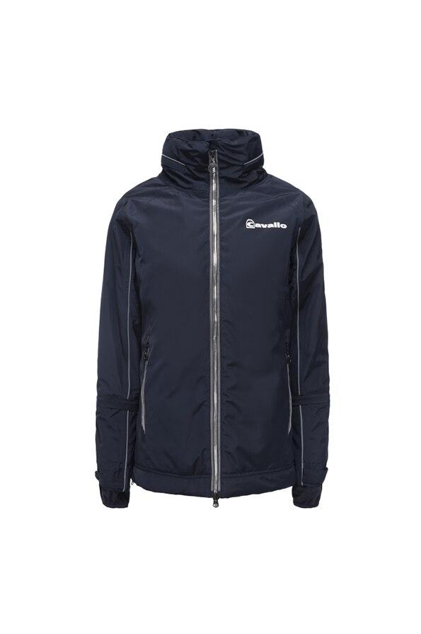 Cavallo Ladies Ramiza Functional Jacket - Front - Dark Blue