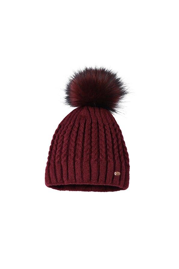 Pikeur Ladies Hat - Dark Pomegranate