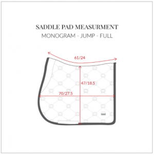 PS of Sweden Jump Saddle Pad Sizing