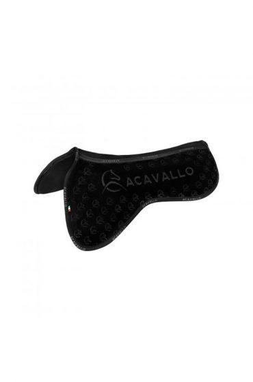 Acavallo Louvre Spine Free Silicone Memory CC Half Pad - Black