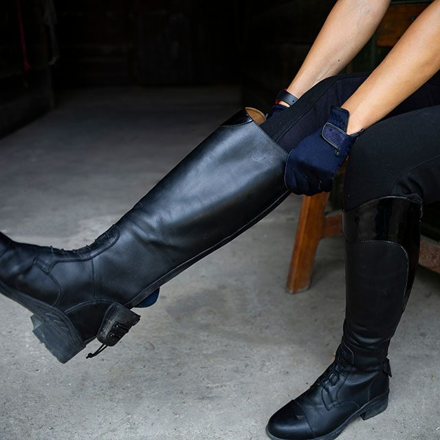 How to measure for riding boots