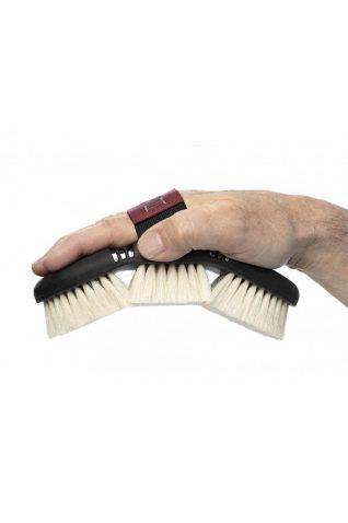image of LeMieux Flexi Goats Hair Body Brush