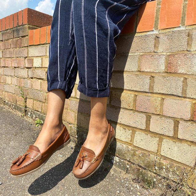 Review of  Chatham Ladies Arora Leather Tassel Loafers