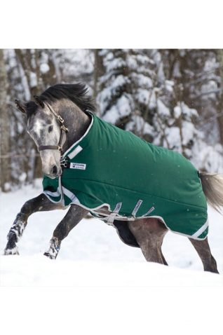 image of Horseware Rambo Original Turnout Rug with Leg Arches 400g