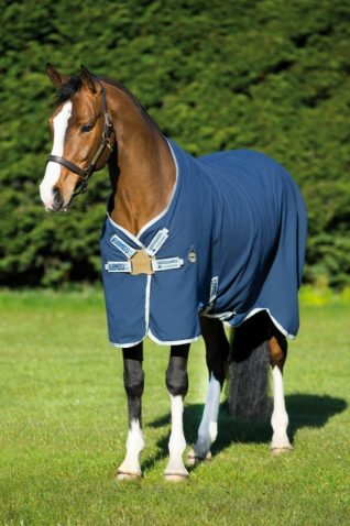 image of Horseware Rambo Helix Disc Front Closure Stable Sheet